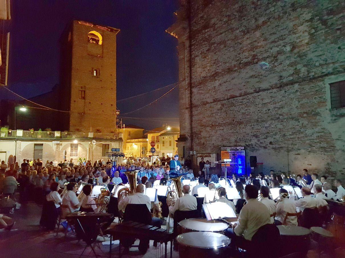 FELETTO - Videoconcerto: un altro successo per la Filarmonica Felettese - FOTO