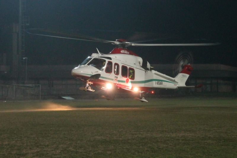 CANAVESE - L'elicottero del 118 atterra anche di notte a Valprato Soana, San Giusto e Busano