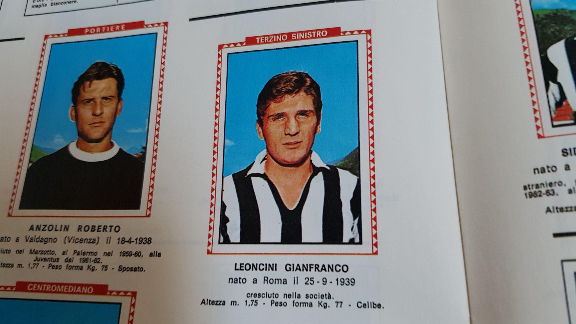 CHIVASSO - Addio all'ex calciatore della Juve, Gianfranco Leoncini
