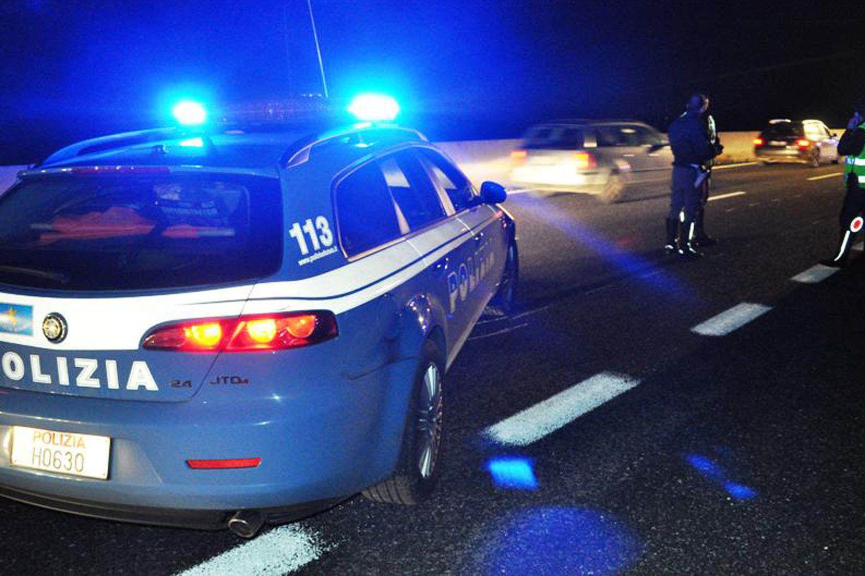 POLIZIA STRADALE - Nel 2018 più incidenti stradali ma vittime e feriti in calo
