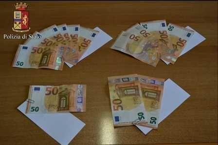 IVREA - Tre uomini denunciati per utilizzo di banconote false
