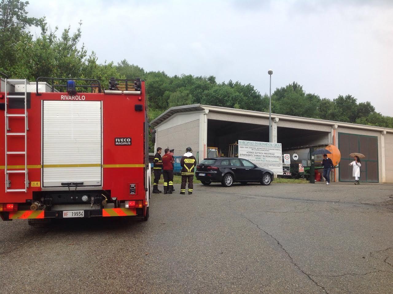 CASTELLAMONTE - Nuovo allarme ambientale alla discarica di Vespia: interviene anche l'Arpa - FOTO e VIDEO