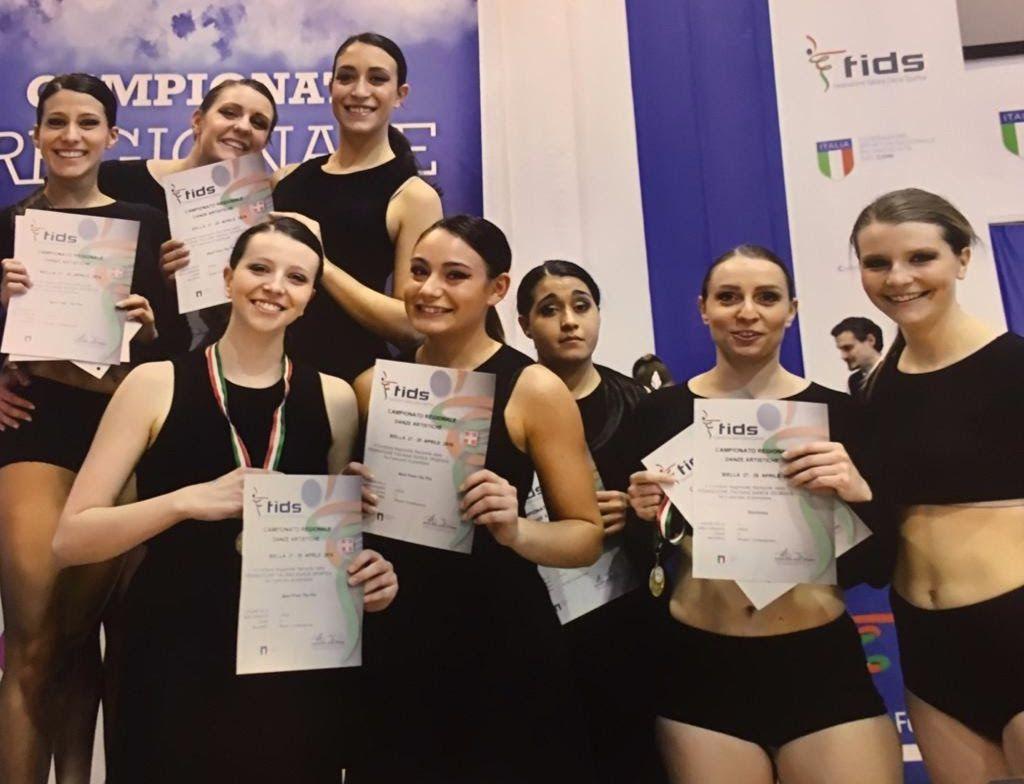 RIVAROLO - La New Dance Academy miete successi anche ai campionati regionali