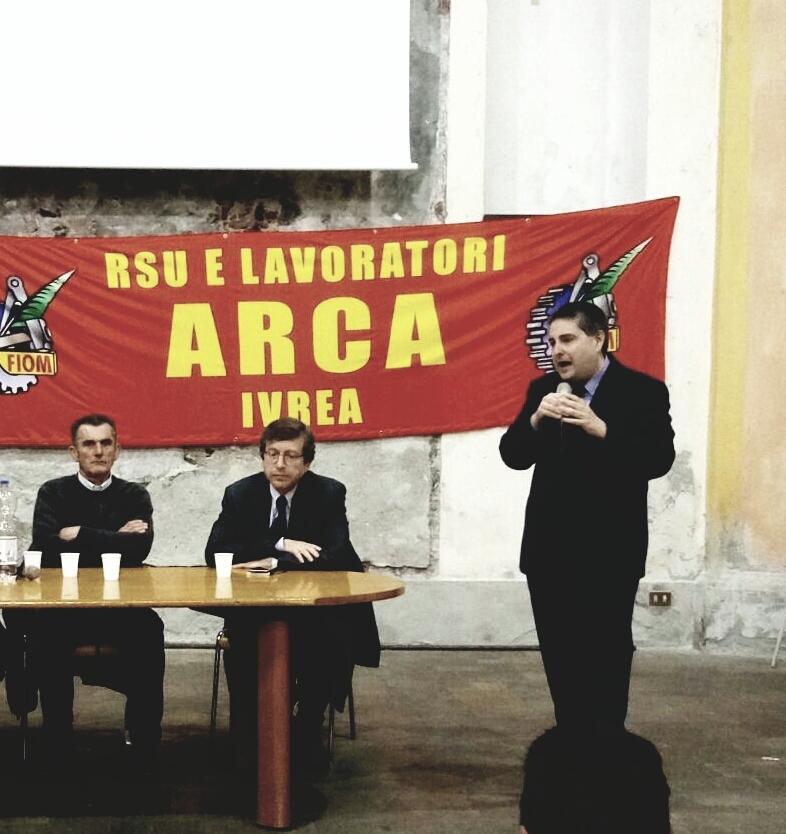 IVREA - Assemblea pubblica in Santa Marta sulla situazione di Arca Technologies