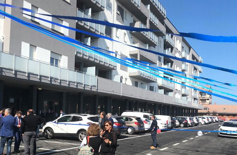 MAPPANO - Consegnate le chiavi di 60 alloggi di «social housing»