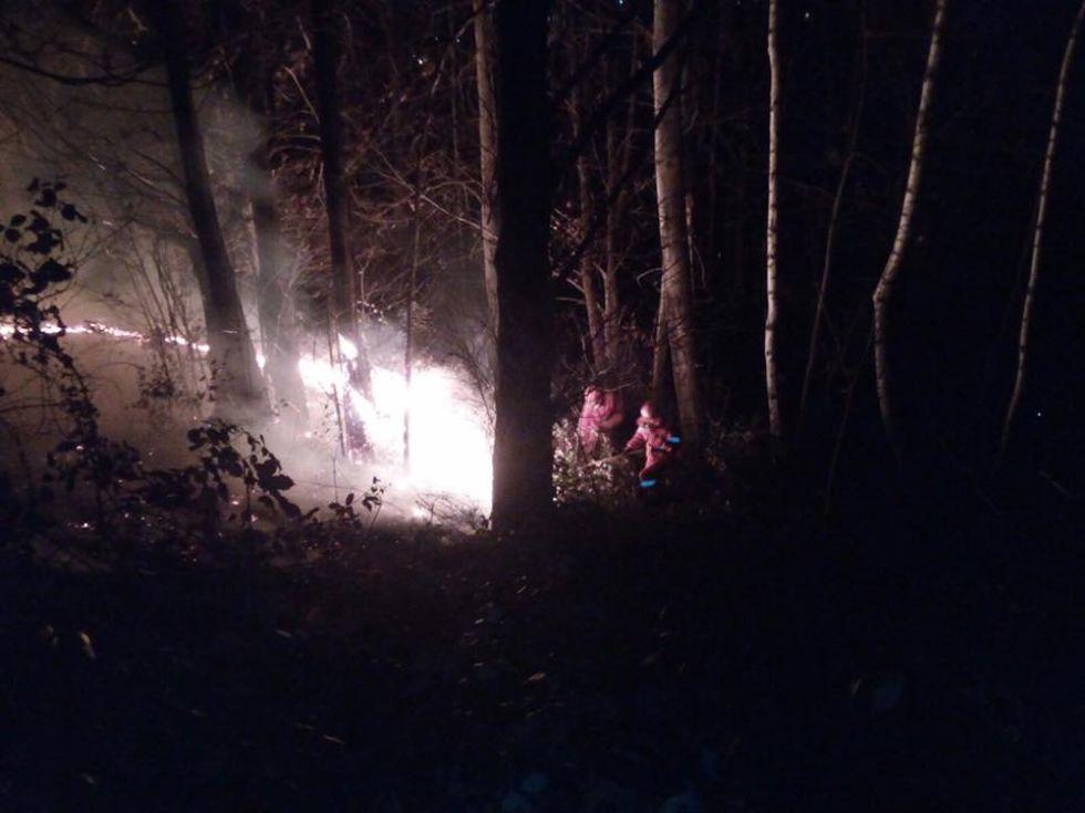 ALLARME INCENDI - Aib e vigili del fuoco salvano case e boschi: il ringraziamento dei sindaci del Canavese