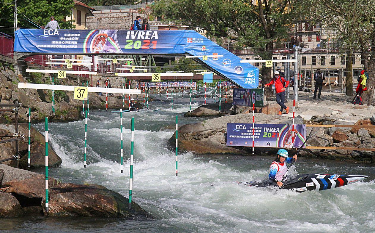 CANOA - Ivrea capitale, oggi iniziano gli ECA Canoe Slalom European Championships
