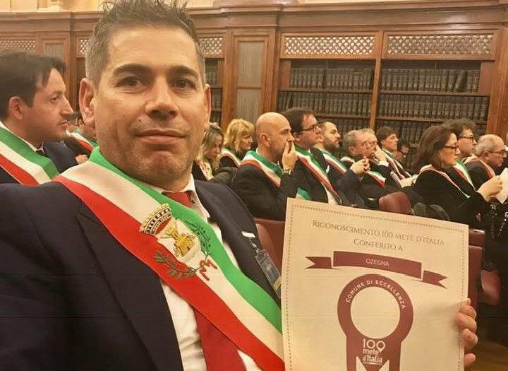 OZEGNA - Comune insignito al «Premio 100 Mete d'Italia»