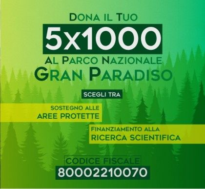 CERESOLE REALE - Parco Nazionale del Gran Paradiso: continuare a donare è importante