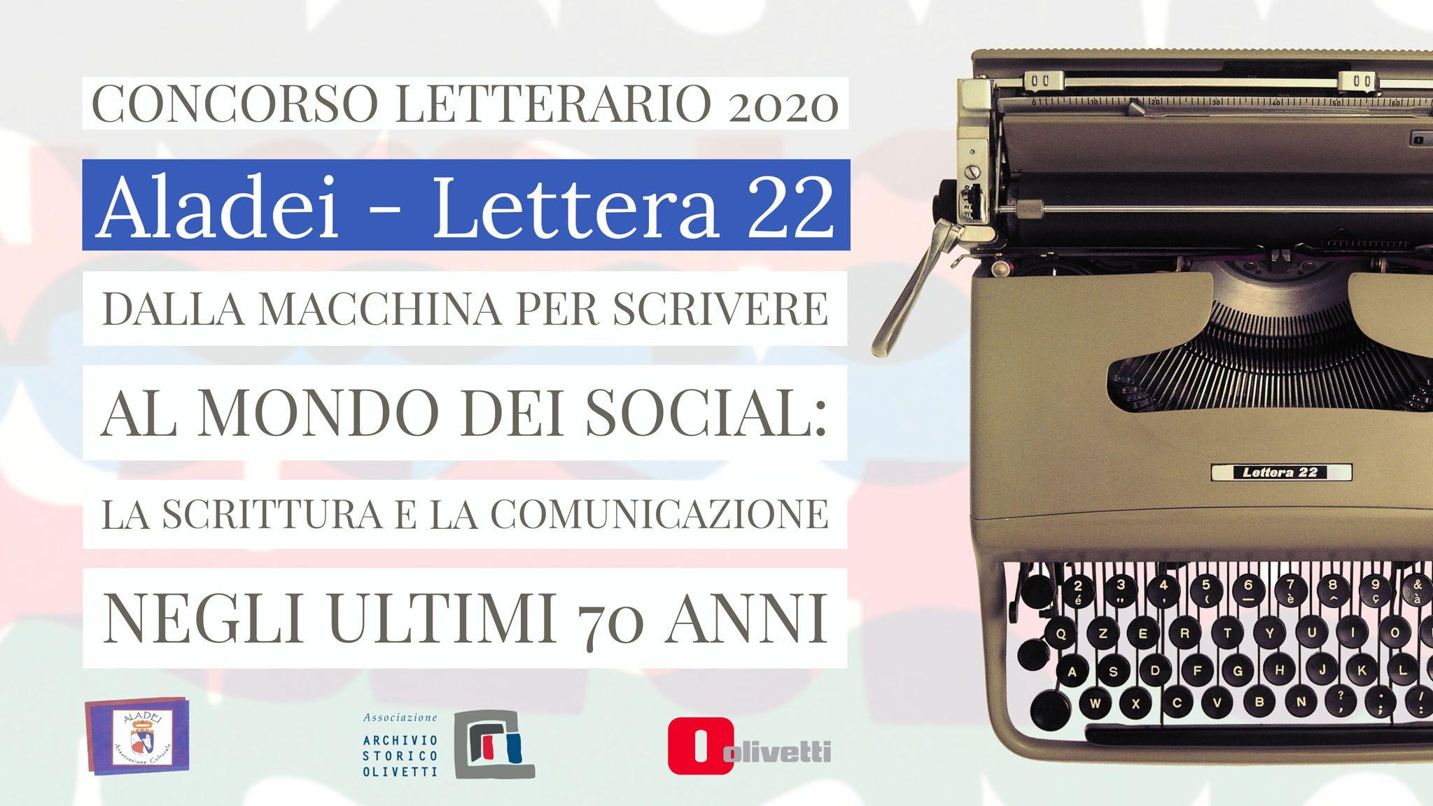 AGLIE' - Un concorso letterario celebra la mitica «Lettera22» Olivetti