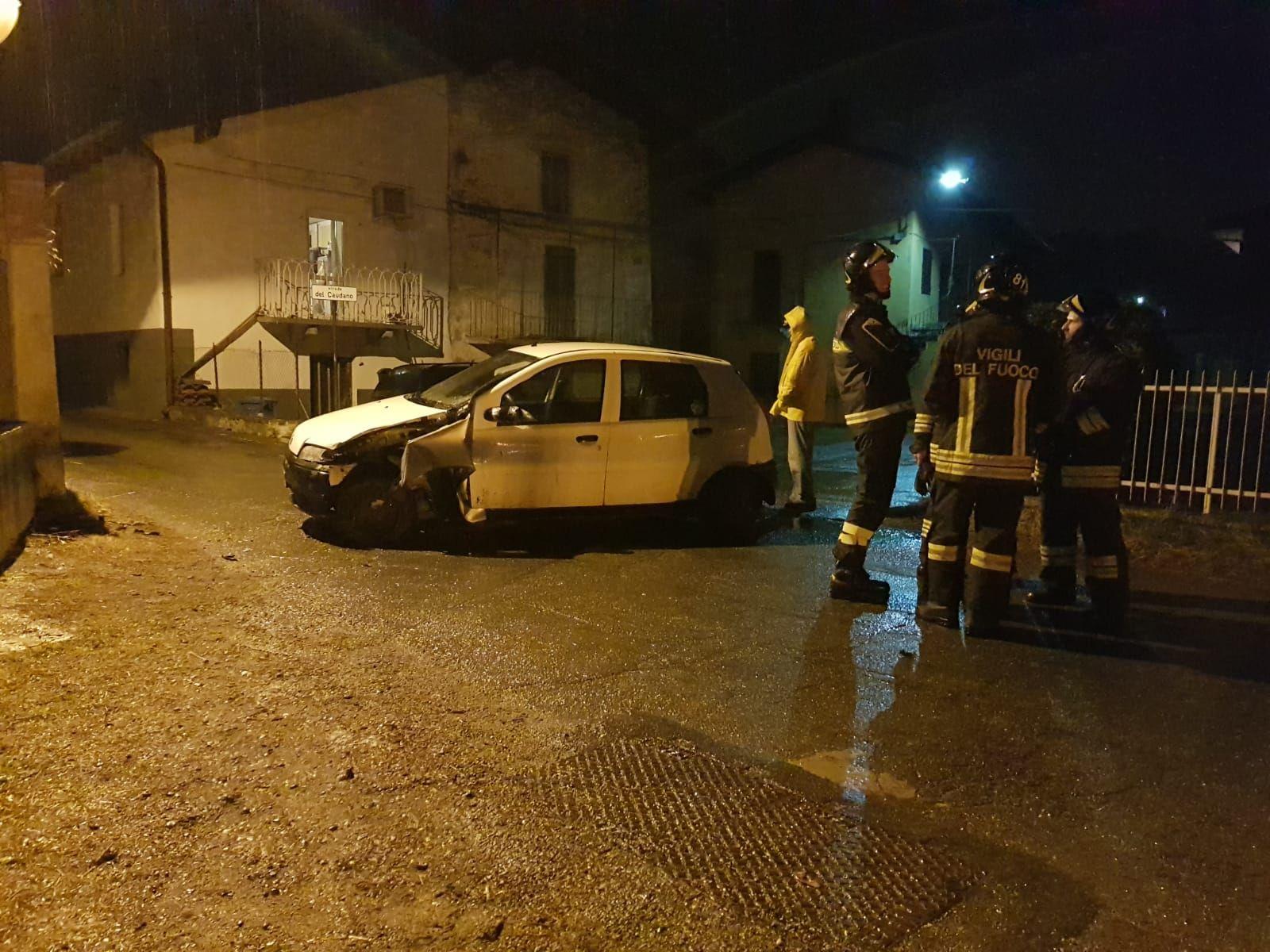 CUORGNE' - Incidente, ferito un automobilista di Priacco - FOTO