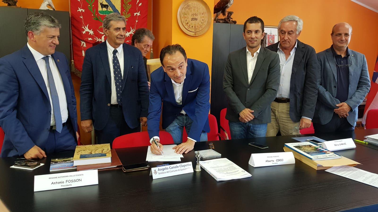 QUINCINETTO - Allarme frana, Uncem plaude al lavoro della Regione