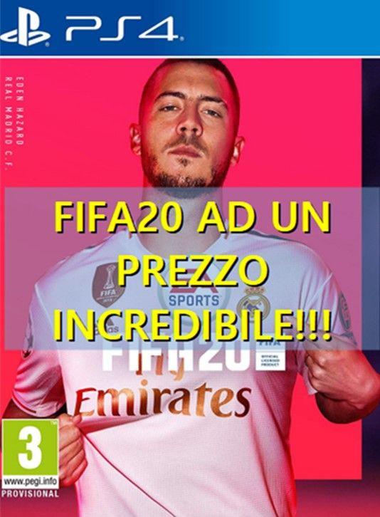 FIFA 20 per PlayStation 4 ad un prezzo mai visto