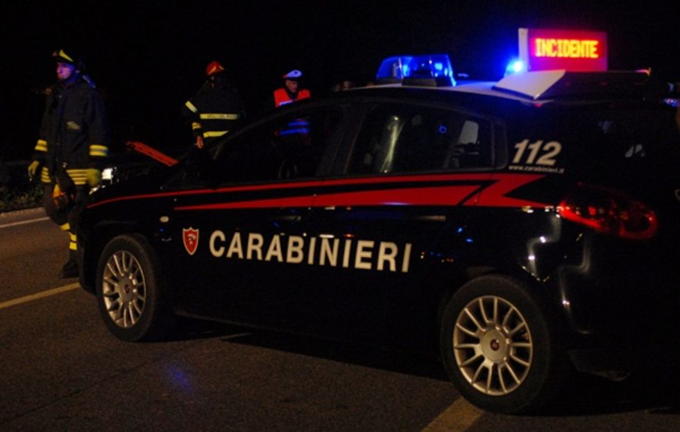 IVREA - Incidente con un'ambulanza: lo schianto in corso Vercelli