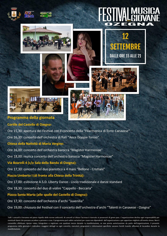 OZEGNA - Festival della Musica Giovane 2021: un'esplosione di musica per le vie del paese