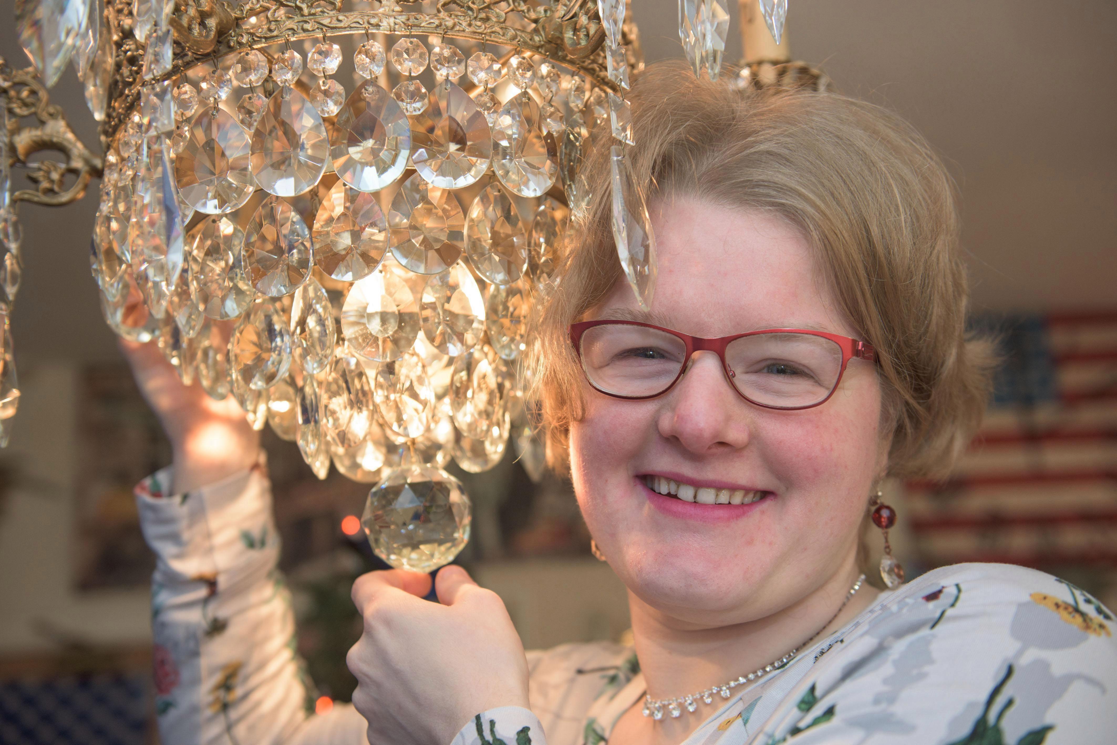 CURIOSITA' - Sposerò il mio lampadario
