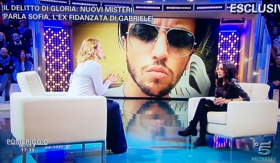 OMICIDIO DI GLORIA ROSBOCH - Sofia in tv: «Spero che Gabriele non esca più dal carcere»