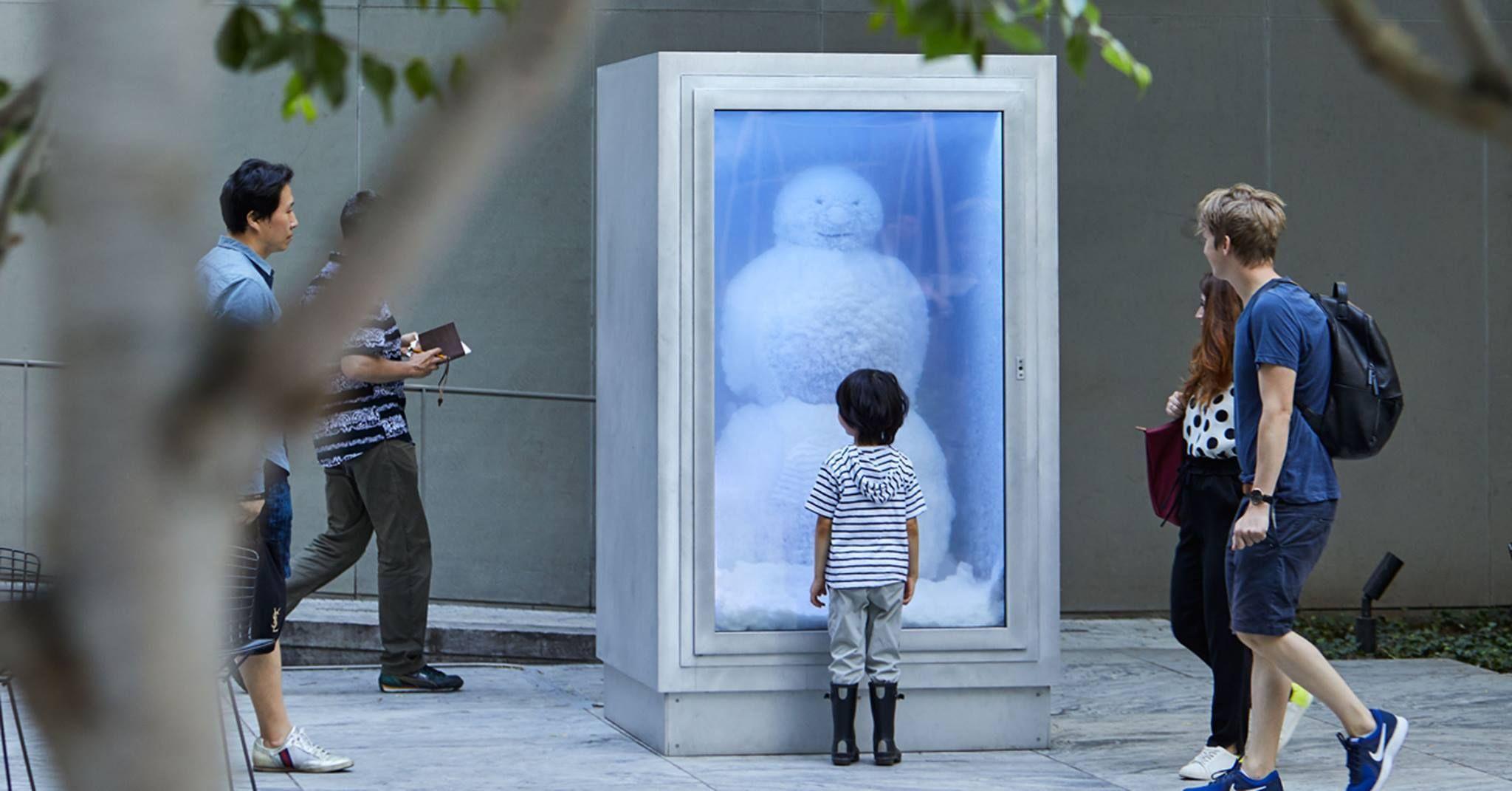 ARTE - I pupazzo di neve più vecchio della storia