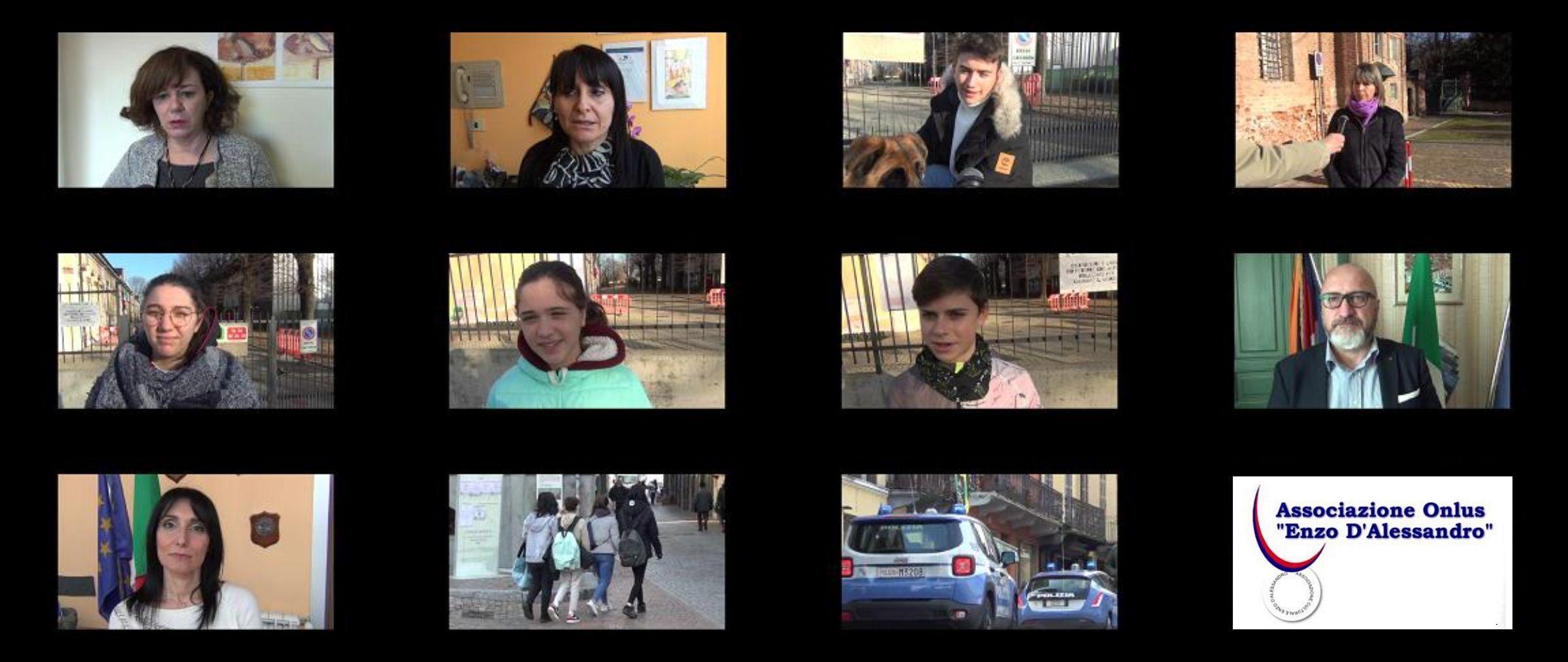 CANAVESE - L'Associazione Enzo D'Alessandro lancia il video: «Tutti uniti contro il bullismo» - VIDEO