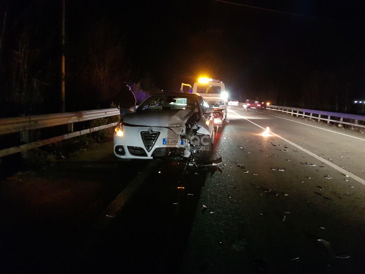 PEDEMONTANA - Un altro incidente tra Bairo e Castellamonte - FOTO