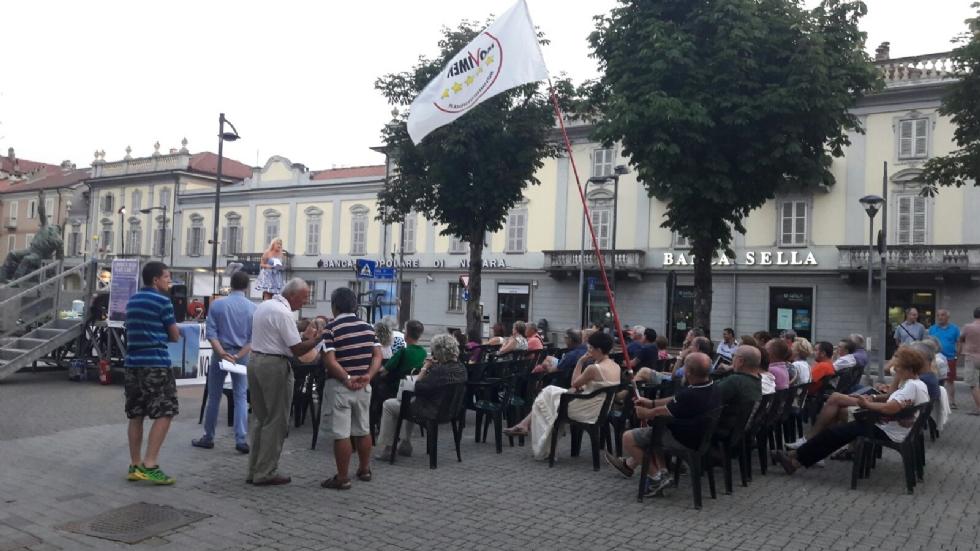 RIVAROLO - Città in piazza per manifestare contro la centrale a biomassa dell'ex Vallesusa - FOTO