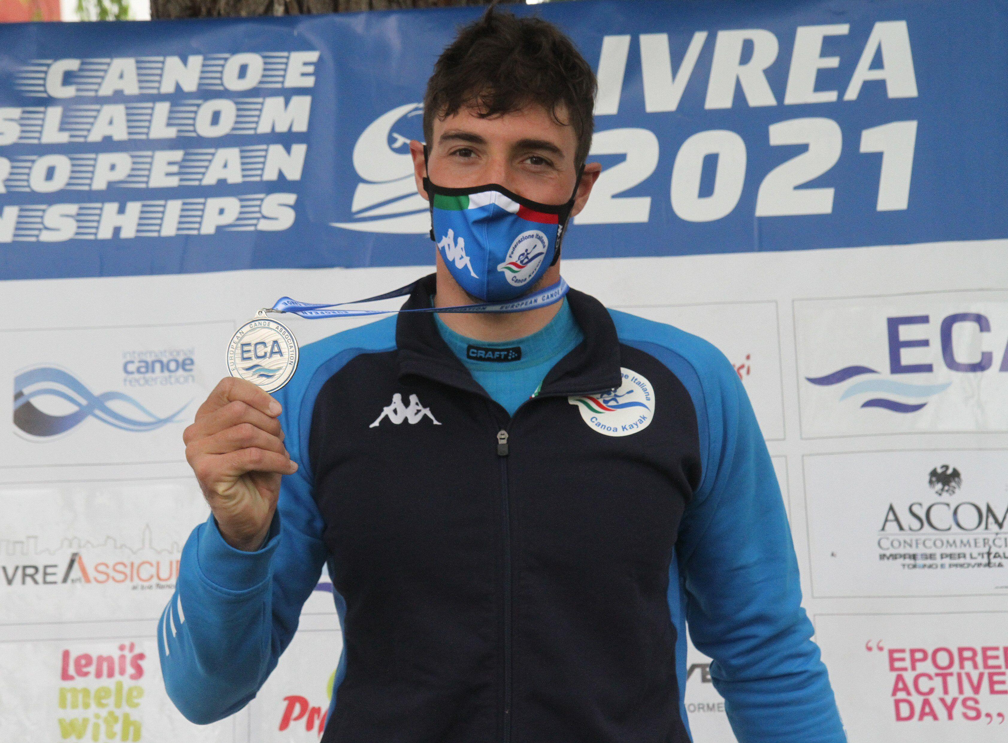 CANOA - Ivrea, per l'Italia Giovanni De Gennaro conquista l'argento nel K1 maschile