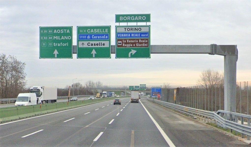 TANGENZIALE TORINO - Lavori tra gli svincoli di Borgaro e Caselle: previsti giorni di ingorghi