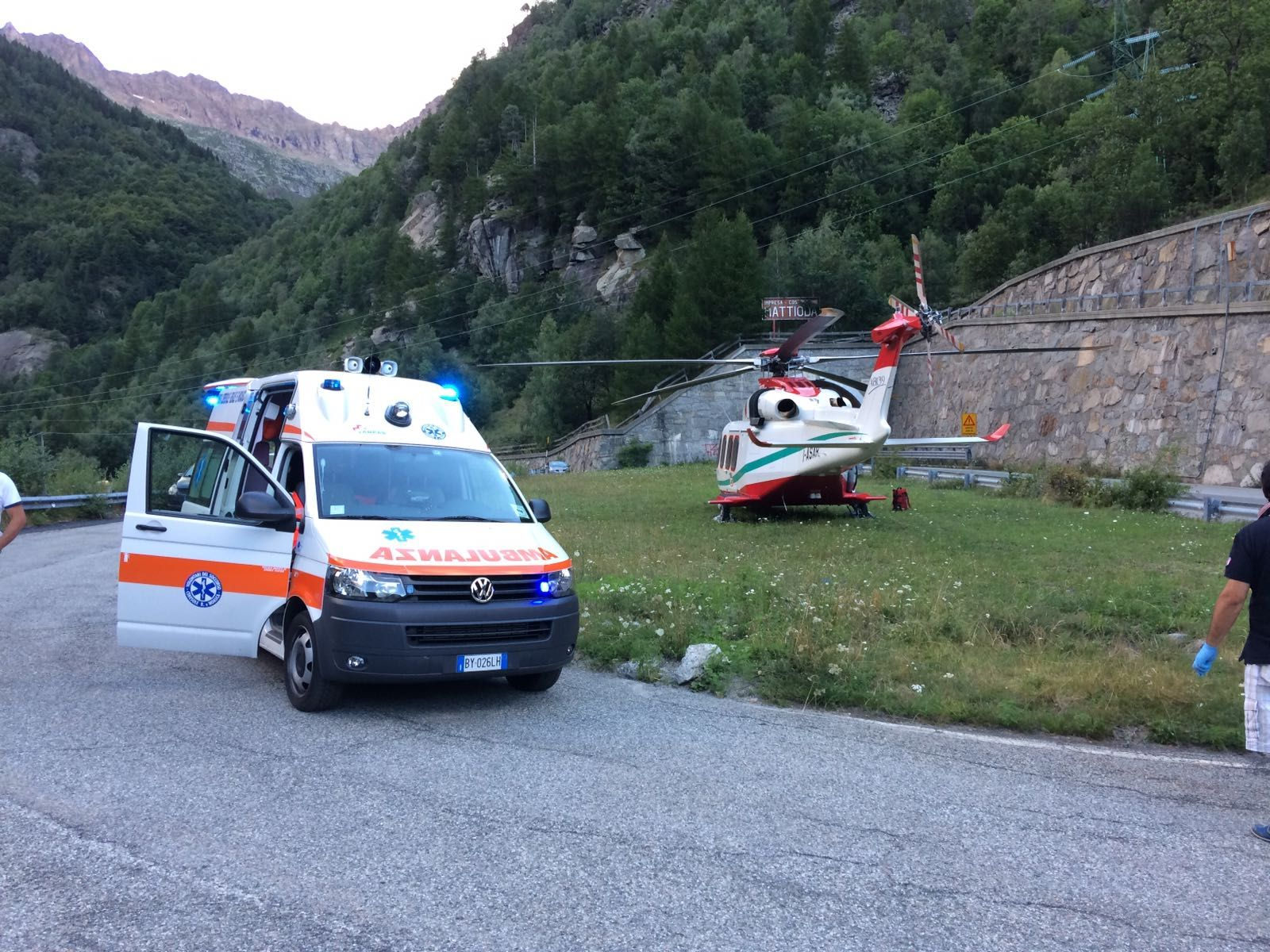 CERESOLE-NOASCA - I volontari potranno utilizzare l'ambulanza