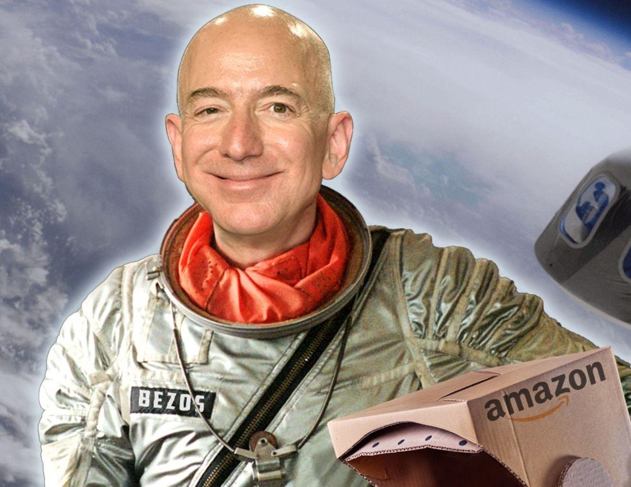 SPAZIO - Jeff Bezos, turista spaziale fai da te