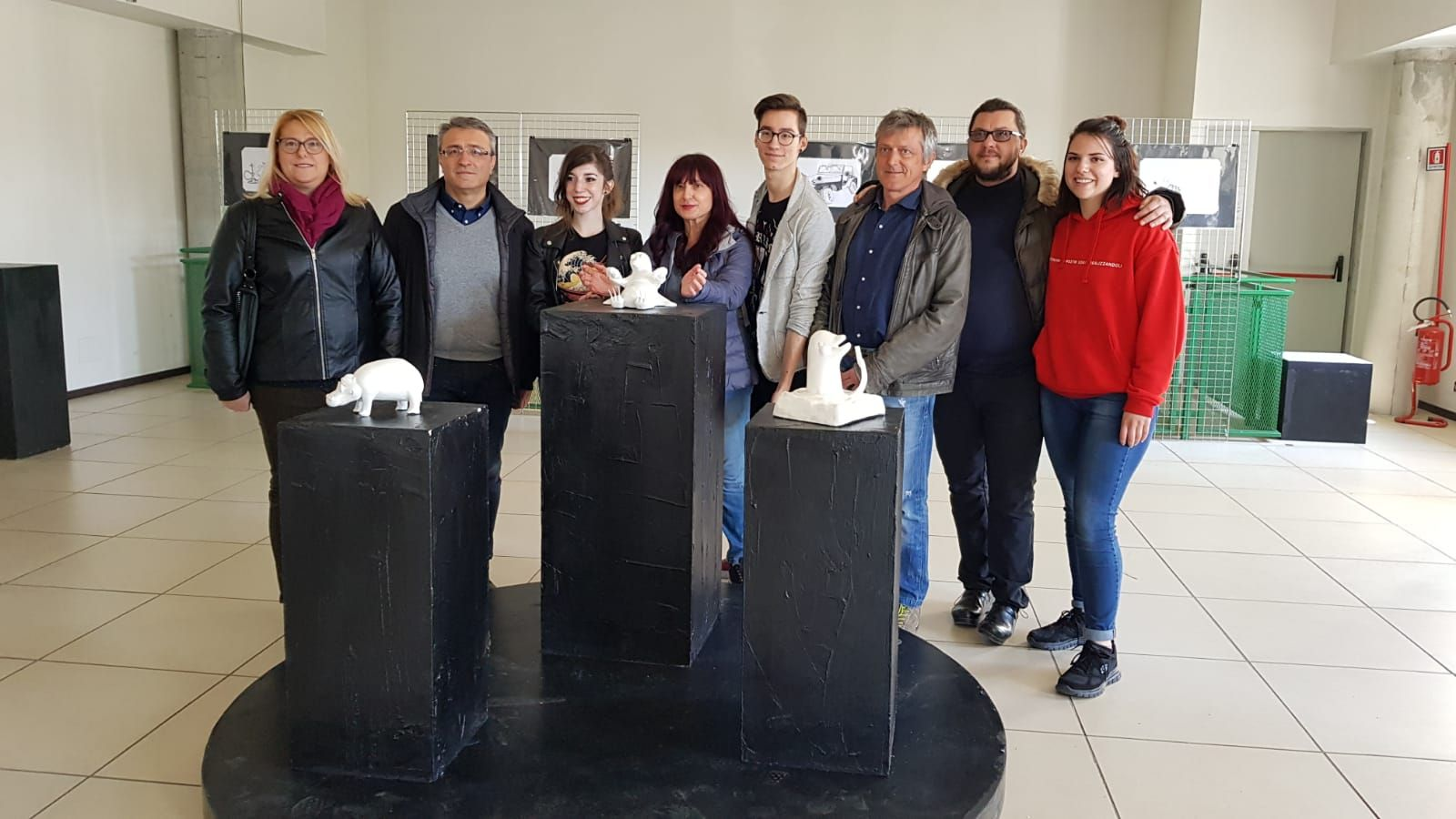 CASTELLAMONTE - Inaugurata la mostra «Quegli animali inimmaginabili» - FOTO
