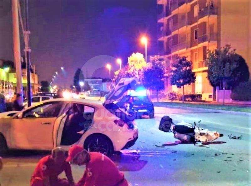 LEINI - Incidente stradale, macellaio mappanese in prognosi riservata