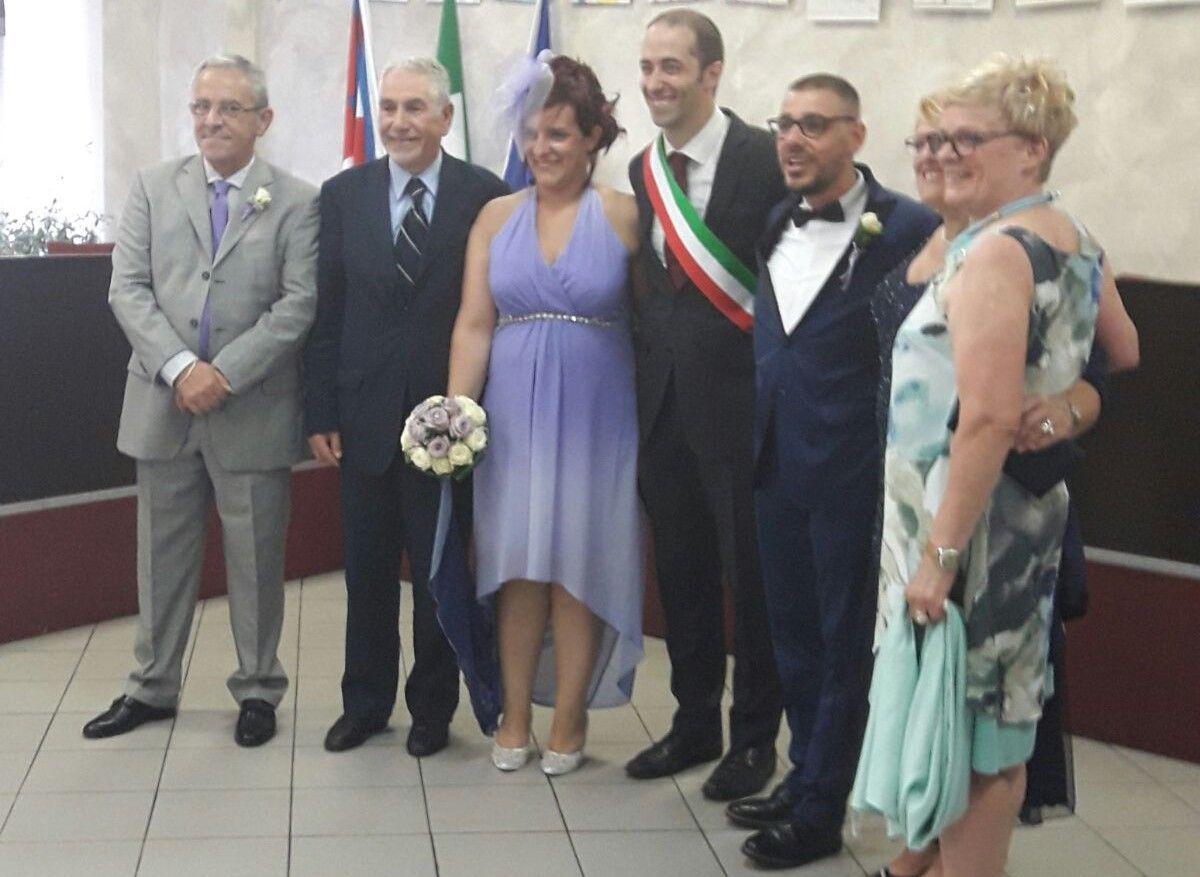 MAPPANO - Ecco il primo matrimonio civile del nuovo Comune