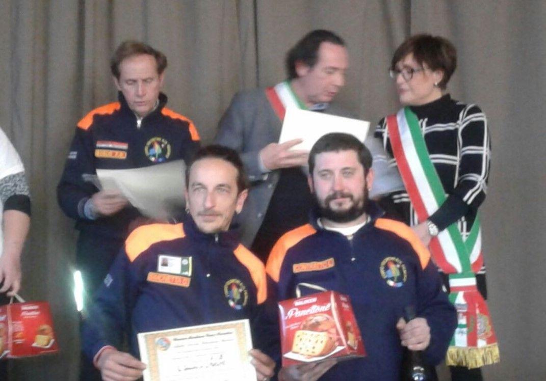 ALPETTE - Premiati i volontari del corpo Aib del Canavese - FOTO