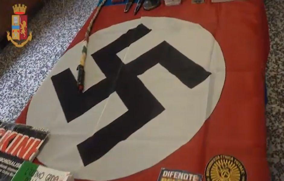 IVREA - Apologia del fascismo: nuove perquisizioni della Digos a carico dei militanti dell'ultradestra - VIDEO
