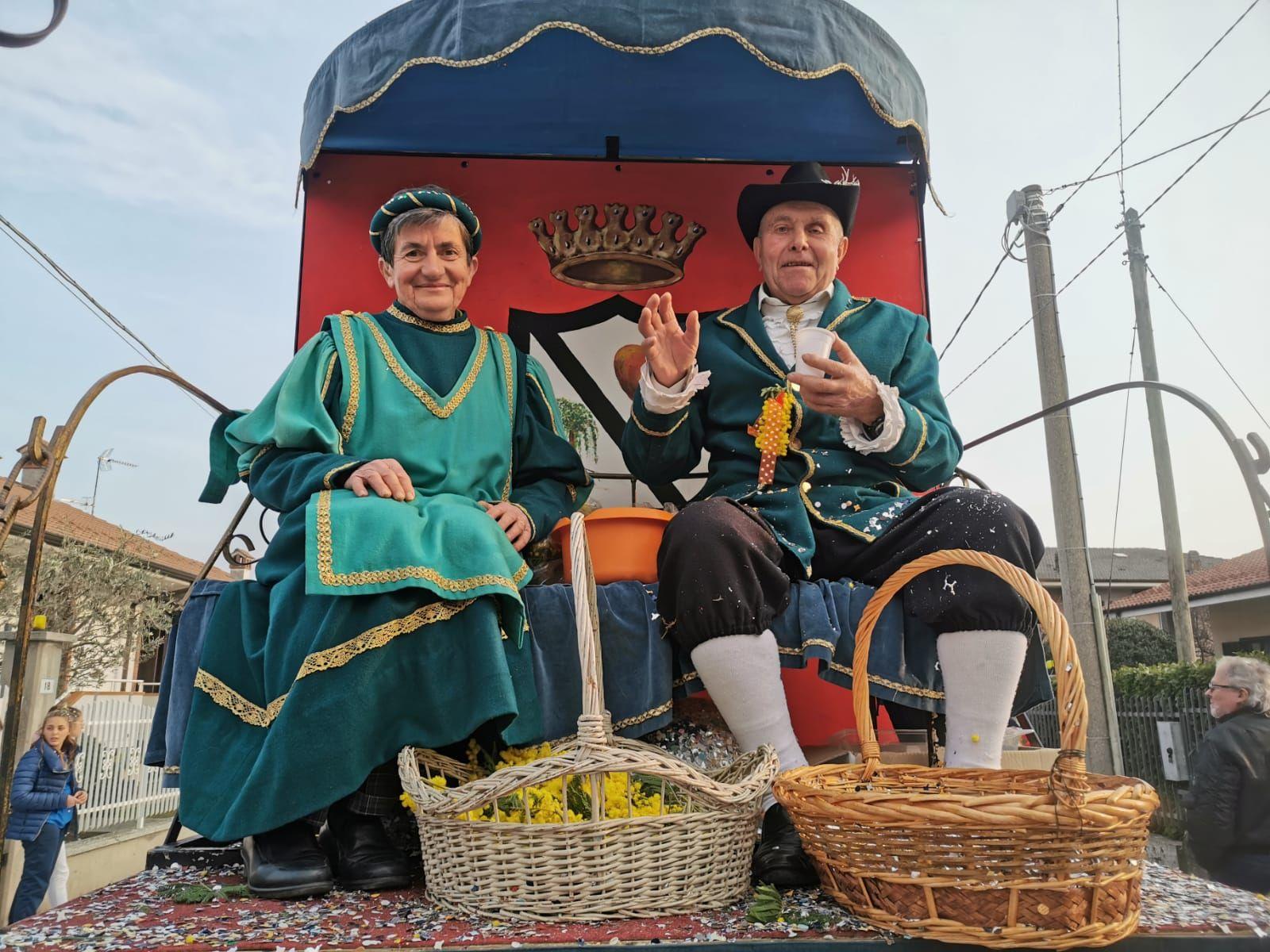 SALASSA - Grande successo di pubblico per il carnevale - FOTO