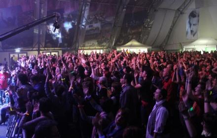 TAVAGNASCO - I Modena City Ramblers prima del gran finale - FOTO e VIDEO
