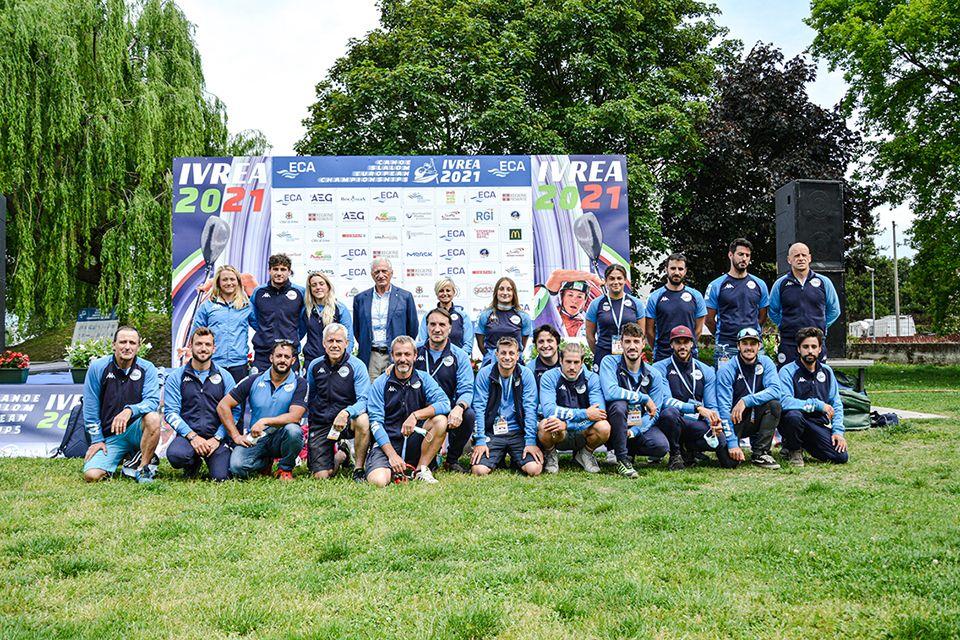 CANOA - A Ivrea l'Italia sfiora la qualificazione nel C1 maschile per le Olimpiadi di Tokyo