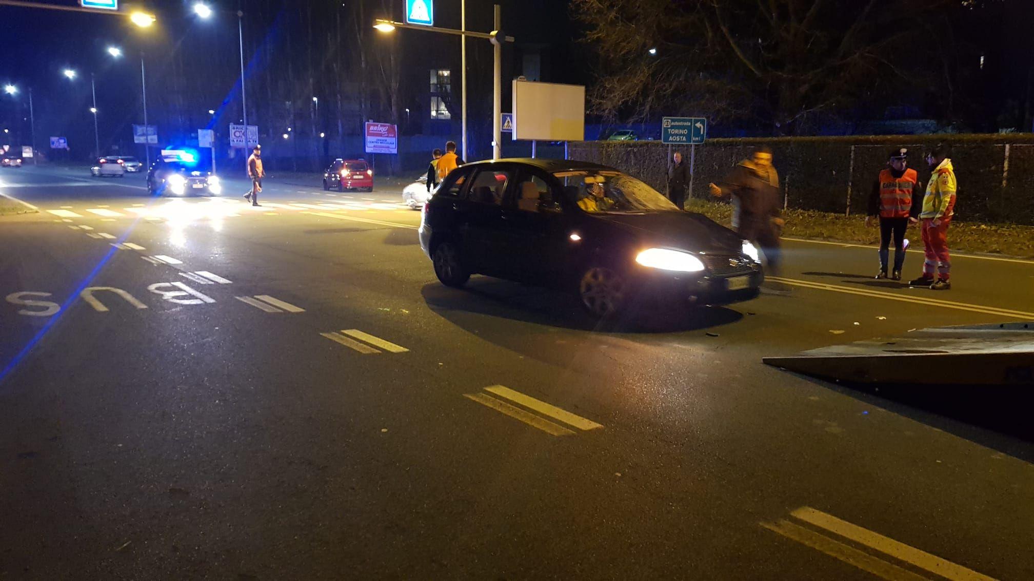 TRAGEDIA A IVREA - E' morta anche la seconda donna investita sabato sera in via Jervis - FOTO e VIDEO
