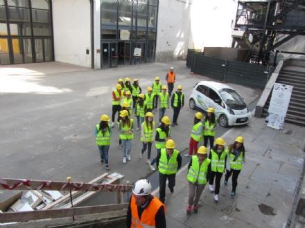 RIVAROLO - I primi studenti visitano la centrale a biomassa