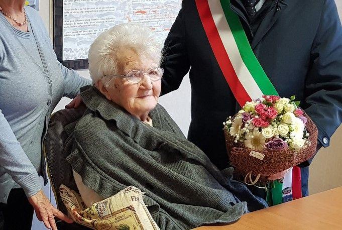 FAVRIA - L'addio a nonna Caterina, una delle persone più longeve del Canavese